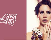 Lana Del Rey: Responsive Web Design