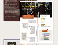 Creative Resume // CV
