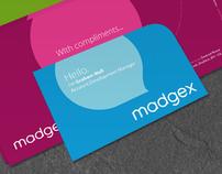 Madgex corporate branding
