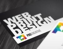 Pro Creative Corporate Identity