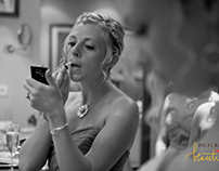 Bridal Preparations at the Wedding of Ashley & Joe 2014