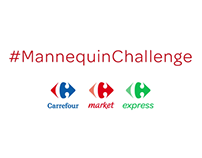 Mannequin Challenge - Carrefour