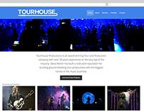 Tourhouse Productions Website Design