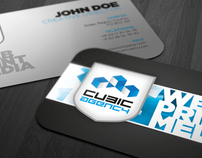 Cubic Creative Agency Corporate Identity