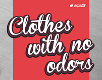 "Arçelik ""Clothes With No Odors"""
