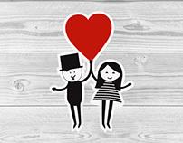 Wedding Invitation / Menu / Label