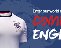 England shirt competition