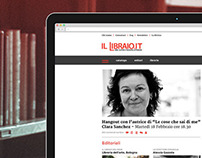 Il Libraio / website restyling