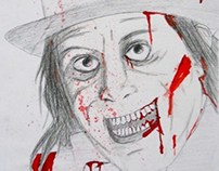 Lon chaney blood