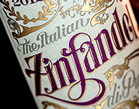 Zinfandel (Identity + Packaging Design)