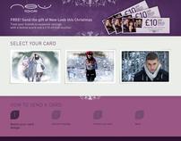 New Look Ecards micro-site