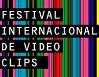"""Concepts & design for """"Clip"""" Video Clip festival"""