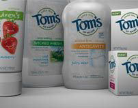 Tom's of Maine - Product Animations