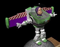 "Character Animation - ""Buzz Lightyear"""