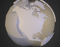 Extruding the World