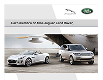 Lâmina Agenda Jaguar Land Rover