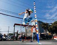 Hippie Jump Contest