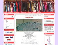 Pink Online Shop Theme By Juragan Kios