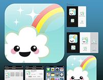 Kawaii Apps Icon