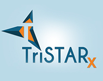 TriSTARx Pharmacy Program Logo Design