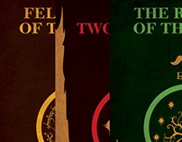 LOTR Trilogy Posters