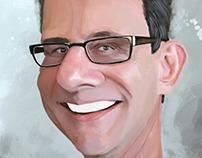 rick walston caricature