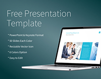 Free Powerpoint/Keynote Presentation Template
