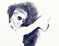 Pencil Sketch(auto portrait)
