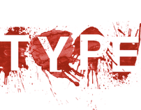 Typography - Blood type