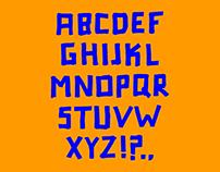 font 'marker'