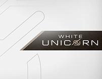 White Unicorn branding és arculattervezés
