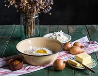 Табрис - Луковый пирог - Пошаговый рецепт