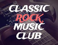 Rock Music Club Advertising Kit