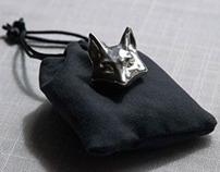Foxhead Pendant, a 3D Print Project.