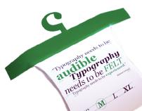 Typography - Font Book (Georgia)