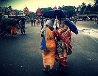 Lord Jagannath Rathyatra in Puri, Orissa