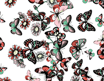 Kids Butterfly Pattern