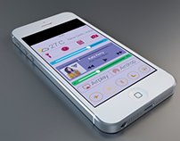 iOS 8 Control Center Concept