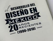 EL DESARROLLO DEL DISEÑO EN MÉXICO (LIBRO)