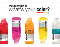 Vitamin Water - What's your color?