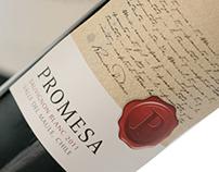 Promesa Wine Label