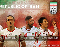 Iran National Team Melli Facebook Cover