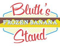 Bluth Frozen Banana Stand Branding