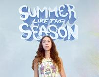 Summer Like The Season: Cover