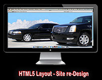html5 web form and CSS3 web site