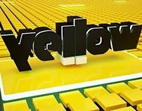 Logo 3D - Yellow - Electronic Music School