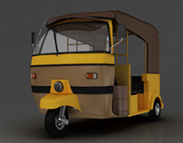 Cng Rickshaw
