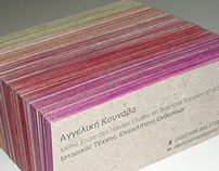 Angeliki Kounava curator | business card