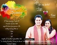 Indian Style Wedding Card