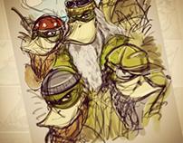 Duck Dynasty concept art